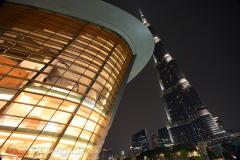 Dubai Opera a Burj Khalifa