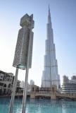 Burj Khalifa a most k tržnici Al Bahar