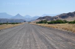 Namibie - Damaraland - silnice C43